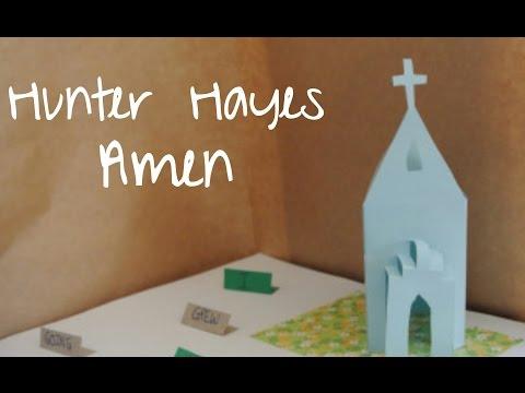 Hunter Hayes - Amen (Pop-Up/3D Storybook Lyric Video)