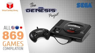 The SEGA Genesis/Mega Drive Project - All 869 Games - Every Game (US/EU/JP/BR)