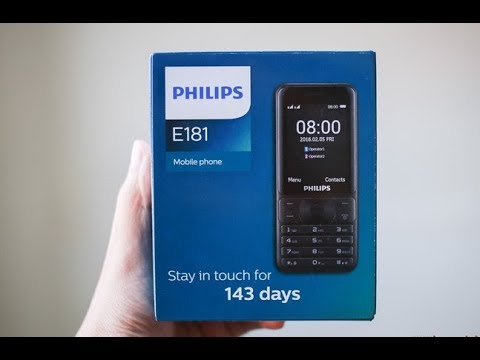 BEST PHILIPS MOBILE PHONE UNDER 2000/- Rs |  PHILIPS E181 QUICK UNBOXING & SPECIAL FEATURE