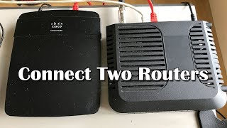 How To Connect Two Routers - LAN to LAN (Wired) Connection