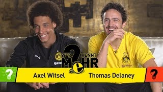 Axel Witsel vs. Thomas Delaney | Who knows more? - The BVB-Duel