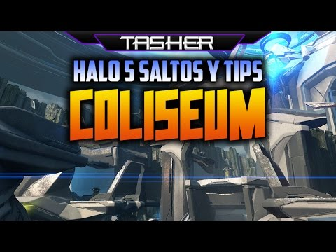 Guia Halo 5 Saltos y trucos en Coliseum - Jumps & Tips