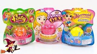 Juegos Infantiles Muñecos de Fairy Magic Princess Fizz y Mermaid Magic