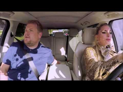 Lady Gaga driving with James Corden