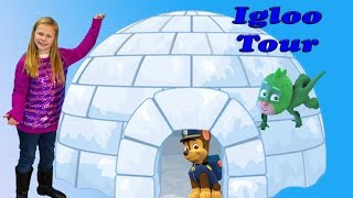 assistant-house-tour-of-her-igloo-with-pj-mask-and-paw-patrol-and-her-doc-mcstuffins-toys