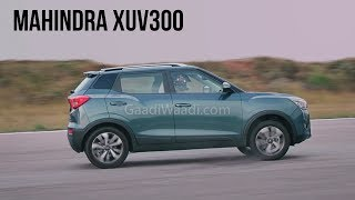Mahindra XUV300 Can Drift, Slide, Off-Road And Do A Lot More – New TVC