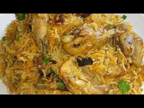 Quick Chicken Pulao | Simple Chicken Pulao Recipe