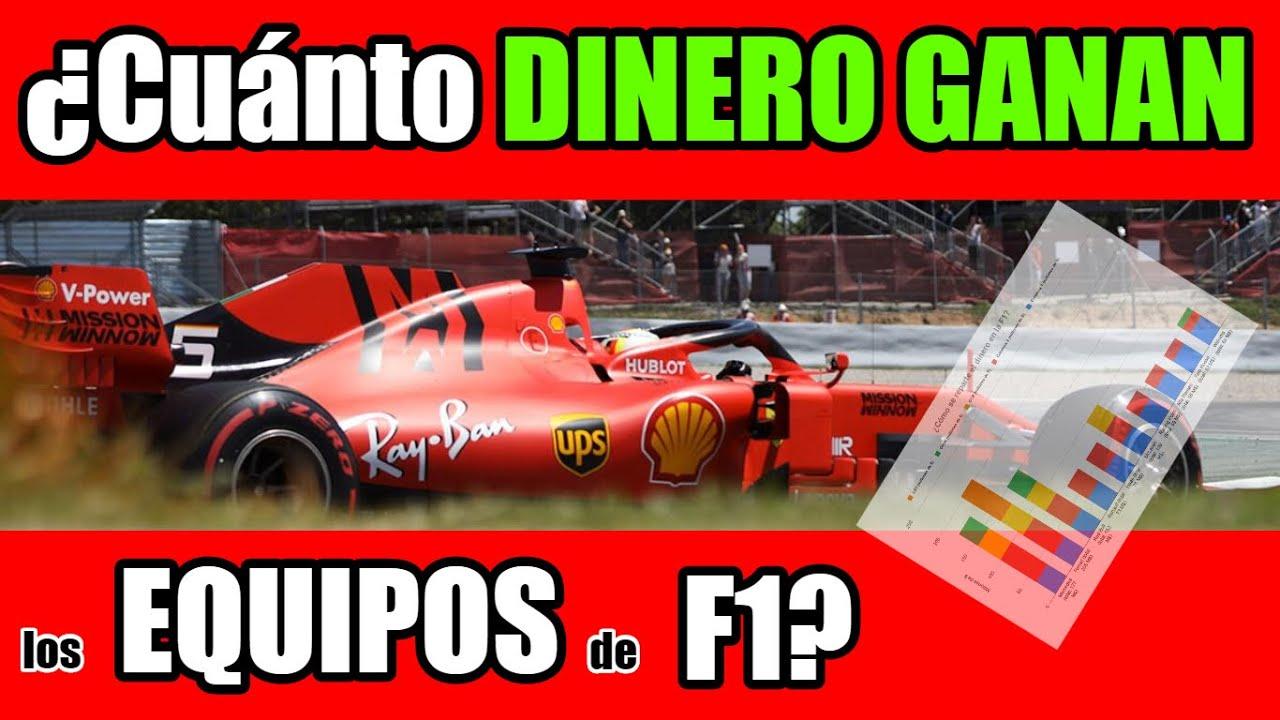 ¿Cuánto DINERO ???? GANAN los EQUIPOS de FORMULA 1? ???? *Cómo se reparte el dinero en la F1* Explic