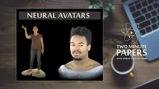This AI Creates A Moving Digital Avatar Of You