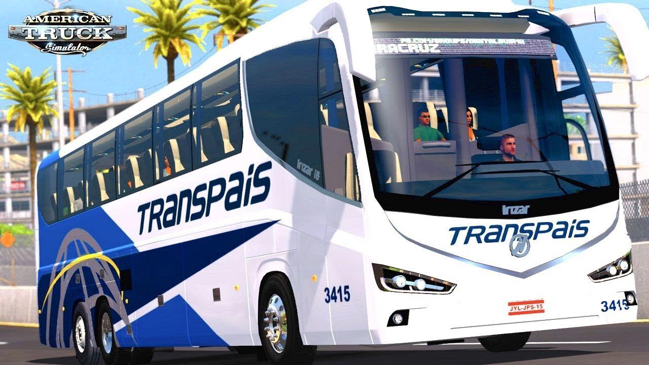 American Truck Simulator - Irizar i8 Bus Mod!