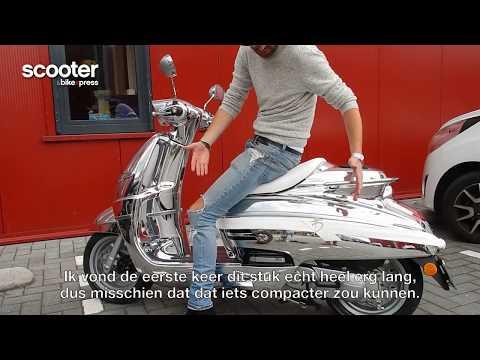 Tommy Driessen over zijn Peugeot Django scooter - Django Design Battle