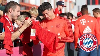 FC Bayern Training Session after the Home Victory against Union Berlin!