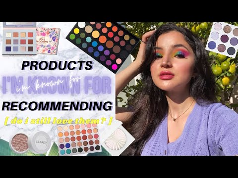 Makeup I'm Known For Recommending ✰ do i still love them? ~open for 2018 julia vibez (´。• ᵕ •。`)
