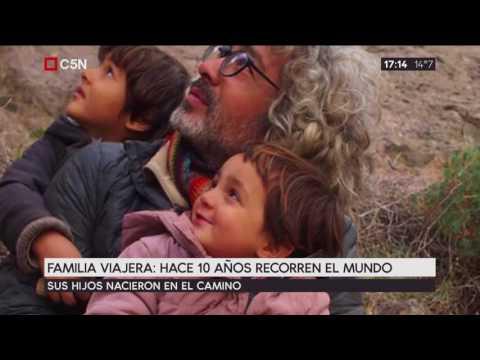 Familia Viajera: Hace 10 años recorre el mundo