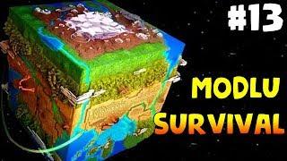 Dünyanın Sonu: Minecraft Modlu Survival Bölüm13 - METEOR KALKANI YAPTIK! (Steve's Galaxy Modpack)