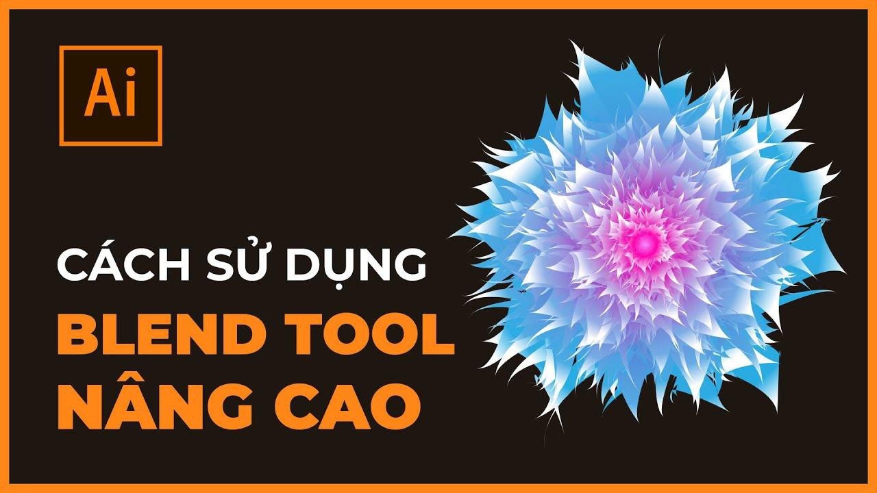 Bài 14: Blend Tool Nâng Cao Trong Illustrator | Thùy Uyên