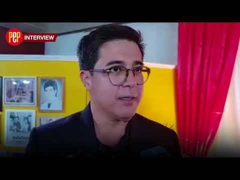 Aga Muhlach on why he can't do a movie yet with Lea Salonga
