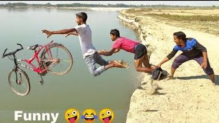NON-STOP FUNNY COMEDY VIDEO2020 Try not to Laugh Challenge/by Bindass club