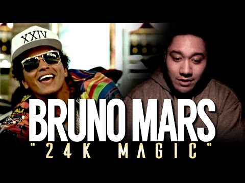Bruno Mars - 24K Magic REACTION!!!