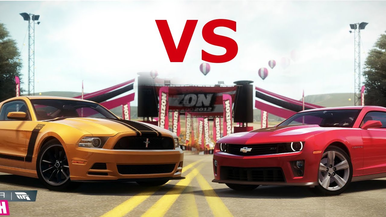 Forza Horizon Muscle Car Showdown Camaro Zl1 Vs
