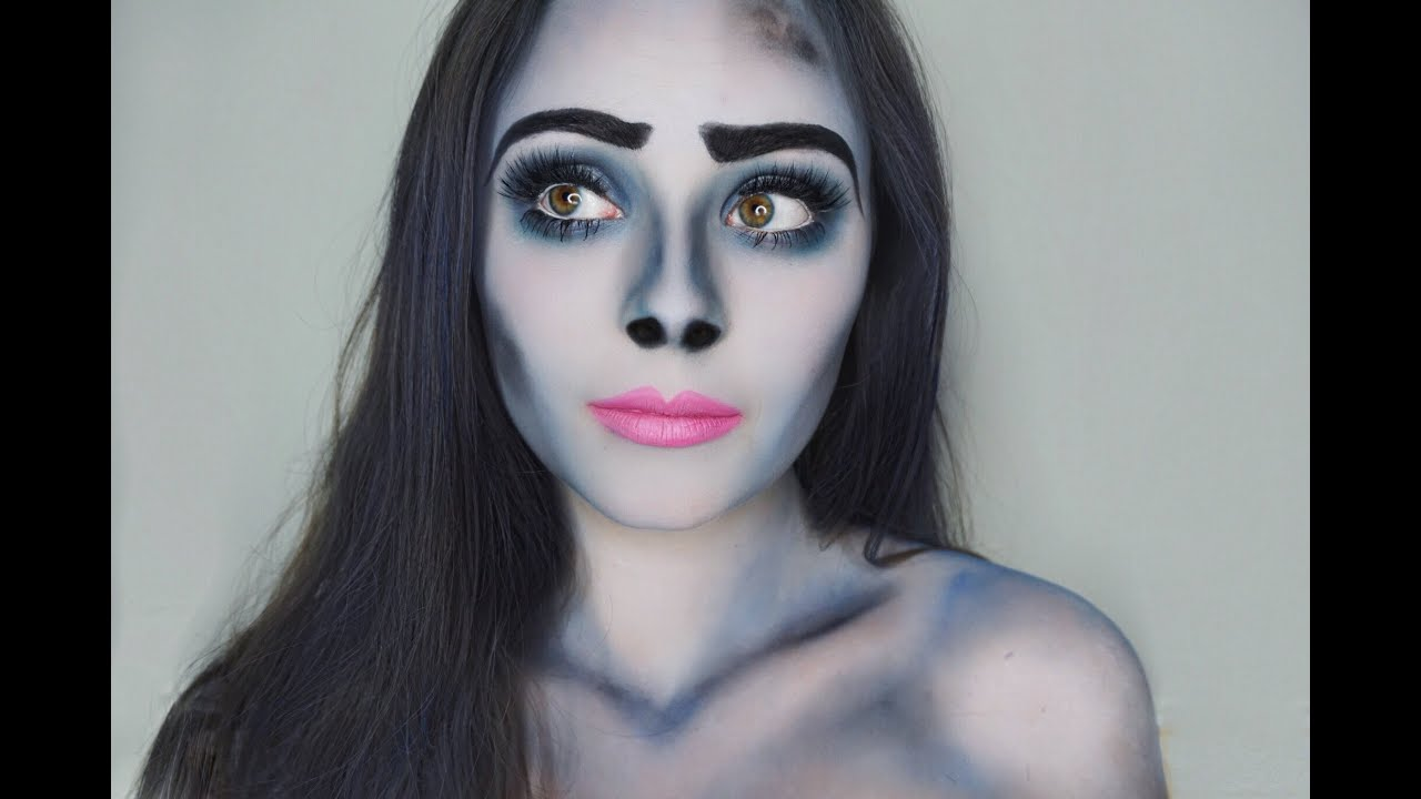 Halloween Make Up Anleitung How To Do Corpse Bride Inspired Halloween Makeup To Satisfy Your