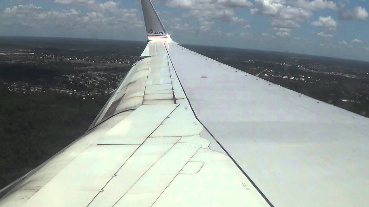 American Airlines 1576 Miami To Orlando Takeoff And