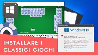 Installare i classici giochi Windows [Solitaire, Mahjong, Hearts, FreeCell ecc.]