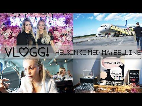 Åker till Finland med Maybelline! | VLOGG