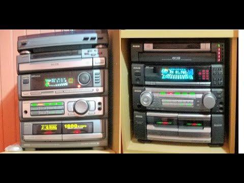 Aiwa ZR800 & ZR990 Dois grandes da Aiwa