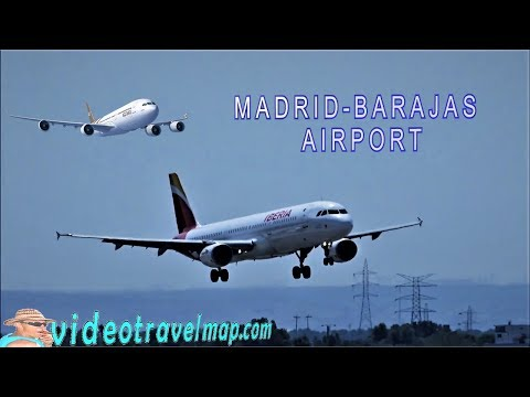 Airport Barajas ✈️ Madrid