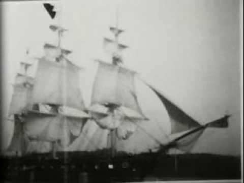 1900 USS Constellation naval drill