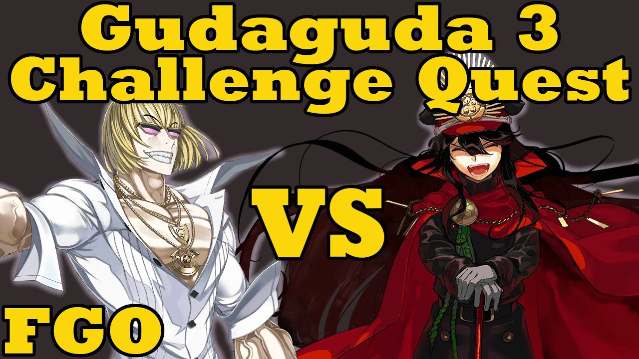 Tussle in Tokyo: Kintoki vs Nobunaga - FGO Gudaguda 3 Challenge Quest