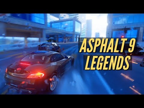 Asphalt 9: Legends is available now on Android and iOS, 8-player
