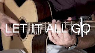 Let It All Go - Birdy ft. Rhodes (Fingerstyle Guitar Cover by Albert Gyorfi) [+TABS]