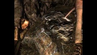 TES V - Skyrim Добывание ртутной руды
