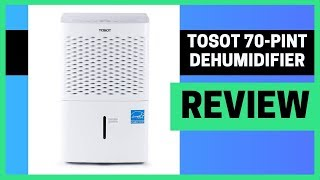TOSOT 70 Pint Dehumidifier Review ✅