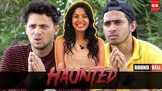 HAUNTED | Round2hell | R2h | Reaction | Pooja Rathi | CuteBox