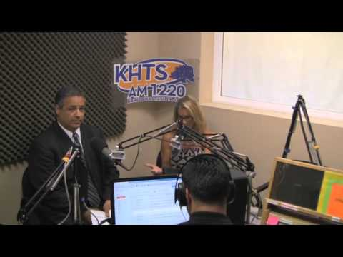 Darbe Nokes: The Credit Gal - KHTS - Santa Clarita (July 24, 2014 Part 1)