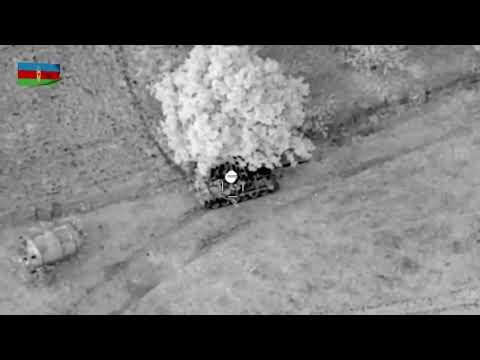 Armenian T-72 tank got destroyed by Bayraktar TB2