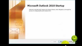 How to add Hotmail & Live Email Accounts to Outlook 2010