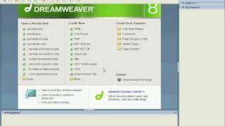 Dreamweaver Chapter 2 lesson 1