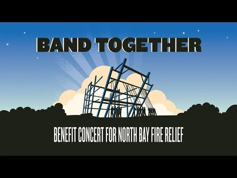 Band Together Bay Area: A Benefit Concert for North Bay Fire Relief Thumbnail image
