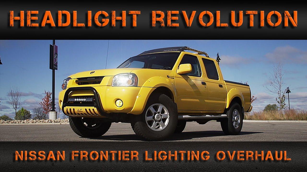 Nissan Frontier Lighting Overhaul | Headlight Revolution & Nissan Frontier Lighting Overhaul | Headlight Revolution - YouTube
