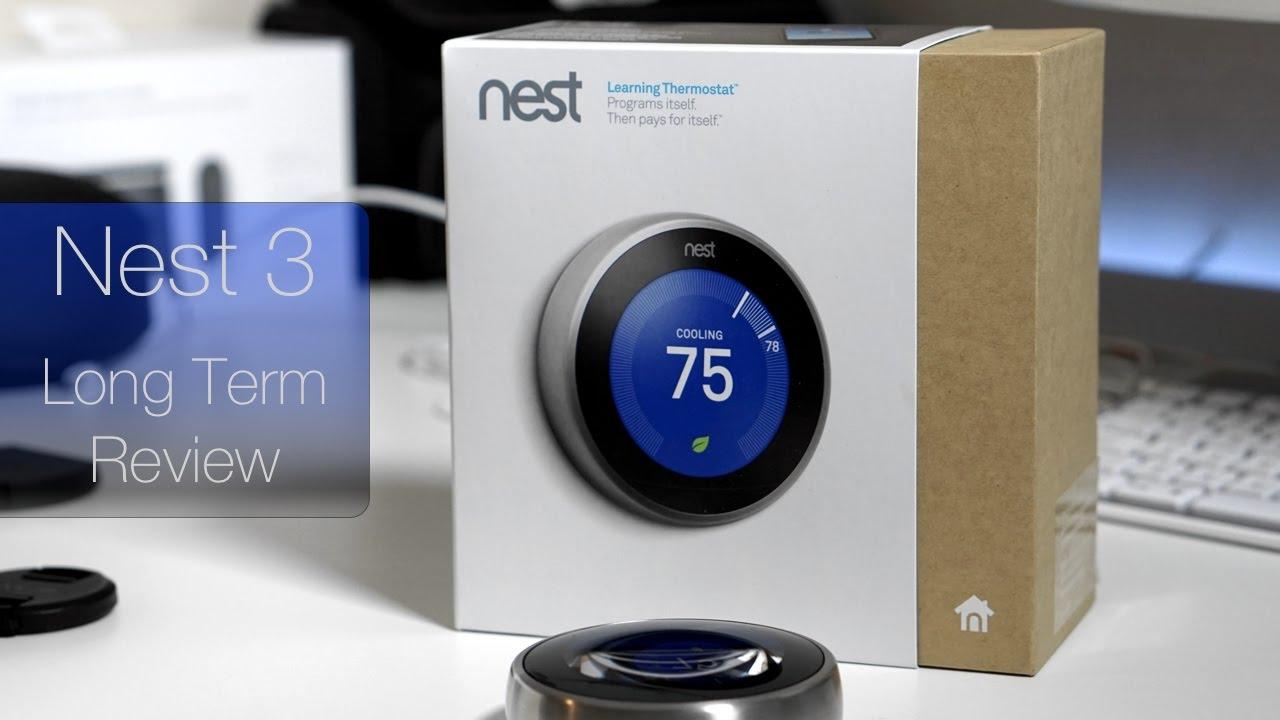Thermostat Nest 3 : nest thermostat 6 months later youtube ~ Nature-et-papiers.com Idées de Décoration
