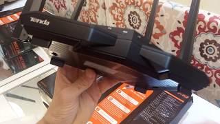 SUPER ROTEADOR ALCANCE VELOCIDADE TENDA AC10 Router AC1200 Smart Dual Band Gigabit WiFi Router