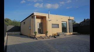 Одноэтажный дом с террасой «Лео».
