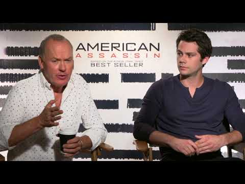 Interview with Michael Keaton and Dylan O'Brien for American Assassin