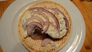 Grill Roasted Gyros with Tzatziki Sauce