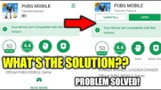 How To Download Pubg Mobile On Your Android Phone • Device Not Compatible Fix