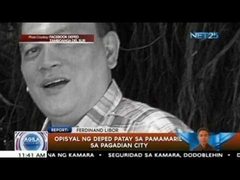 Opisyal ng DepEd patay sa pamamaril sa Pagadian city